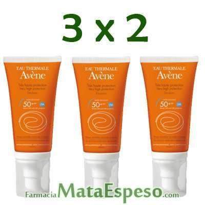 3X2 AVENE EMULSIÓN ANTIOXIDANTE 50+SPF 50ML