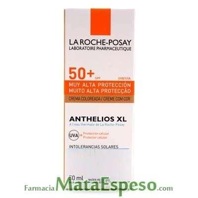 ANTHELIOS XL 50+ CREMA PANTALLA COLOREADA LA ROCHE POSAY 50 ML