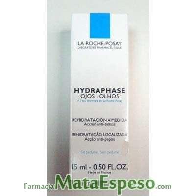 HYDRAPHASE OJOS - ANTIBOLSAS LA ROCHE POSAY 15 ML