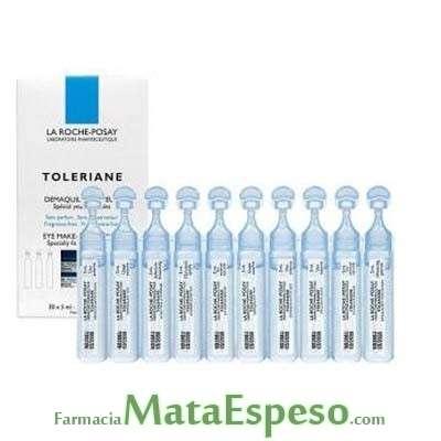 TOLERIANE DESMAQUILLANTE DE OJOS LA ROCHE POSAY 30 x 5 ML
