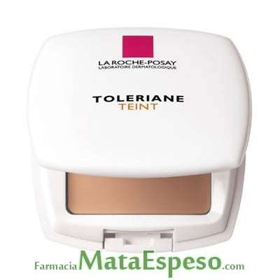 TOLERIANE FONDO DE TONO CORRECTOR COMPACTO LA ROCHE POSAY DORE 15 16G